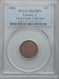Proof Indian Cents: , 1886 1C Type One PR63 Brown PCGS. PCGS Population (18/134). NGC Census: (17/170). Mintage: 4,290. Numismedia Wsl. Price for...