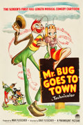 "Movie Posters:Animated, Mr. Bug Goes to Town (Paramount, 1941). One Sheet (27"" X 41"").. ..."
