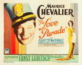 """Movie Posters:Comedy, The Love Parade (Paramount, 1929). Half Sheet (22"""" X 28"""" Style B....."""