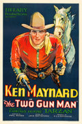 "Movie Posters:Western, The Two Gun Man (Tiffany, 1931). One Sheet (27"" X 41"").. ..."