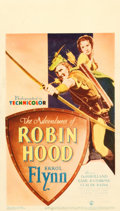 "Movie Posters:Swashbuckler, The Adventures of Robin Hood (Warner Brothers, 1938). Midget WindowCard (8"" X 14"").. ..."