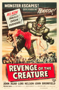 "Movie Posters:Horror, Revenge of the Creature (Universal International, 1955). One Sheet(27"" X 41"").. ..."