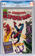 Silver Age (1956-1969):Superhero, The Amazing Spider-Man #21 (Marvel, 1965) CGC NM+ 9.6 White pages....