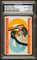 Autographs:Sports Cards, Signed 1960 Topps Roger Maris All Star #565 PSA/DNA Authentic. ...
