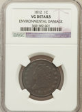 Large Cents: , 1812 1C Small Date -- Environmental Damage -- NGC Details. VG. NGCCensus: (6/156). PCGS Population (3/211). Mintage: 1...