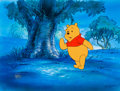 Animation Art:Production Drawing, The New Adventures of Winnie-the-Pooh Production Cel (WaltDisney, 1988)....