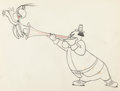 Animation Art:Production Drawing, The Jerky Turkey Production Drawing Group (MGM, 1945)....