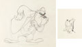 Animation Art:Production Drawing, MGM Studio Production Drawing Group (MGM, 1940s).... (Total: 2Original Art)