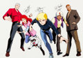 Animation Art:Color Model, The Real Adventures of Jonny Quest Autographed Color ModelCel (Hanna-Barbera, 1996)....