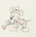 Animation Art:Production Drawing, Mickey's Man Friday Mickey Mouse Production Drawing (WaltDisney, 1935)....