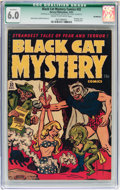 Golden Age (1938-1955):Horror, Black Cat Mystery #32 Incomplete (Harvey, 1951) CGC Qualified FN6.0 Cream to off-white pages....