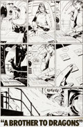 Original Comic Art:Panel Pages, Dave Gibbons Watchmen #7 Page 2 Original Art and Color GuideGroup (DC, 1987)....