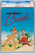 Golden Age (1938-1955):Cartoon Character, Bambi #nn (K. K. Publications, Inc., 1941) CGC VF/NM 9.0 Off-whitepages....