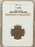 Indian Cents: , 1872 1C Fine 12 NGC. NGC Census: (28/545). PCGS Population(71/767). Mintage: 4,042,000. Numismedia Wsl. Price for problem ...