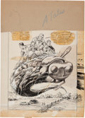 Original Comic Art:Covers, John Severin and Joe Simon Alarming Tales Cover Original Art(Harvey, c. 1958).... (Total: 2 Items)