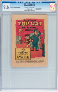 Kite Fun Book #nn Top Cat (Western Publishing, 1963) CGC NM+ 9.6 Off-white to white pages