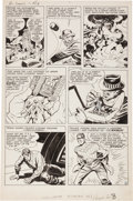 Original Comic Art:Panel Pages, Jack Kirby and Joe Simon The Double Life of Private Strong#1 Story Page 4 Original Art (Archie, 1959)....
