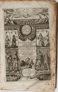 Books:World History, Peter Heylyn. Cosmographie. London: Macock and Chetwind,1673. Sixth edition. Contemporary full leather with fiv...