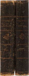 Books:Science & Technology, Richard Brook. New Cyclopaedia of Botany and Complete Book of Herbs. Vol. I & II. London & Huddersfield, ca. 186... (Total: 2 Items)