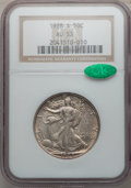 Walking Liberty Half Dollars: , 1928-S 50C AU53 NGC. CAC. NGC Census: (8/372). PCGS Population(18/464). Mintage: 1,940,000. Numismedia Wsl. Price for prob...