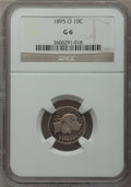 Barber Dimes: , 1895-O 10C Good 6 NGC. NGC Census: (18/127). PCGS Population(73/256). Mintage: 440,000. Numismedia Wsl. Price for problem ...