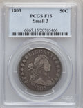 Early Half Dollars: , 1803 50C Small 3 Fine 15 PCGS. PCGS Population (6/67). NumismediaWsl. Price for problem free NGC/PCGS ...