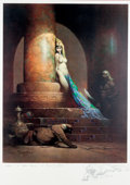 Original Comic Art:Miscellaneous, Frank Frazetta The Egyptian Queen Signed/Remarqued Print#51/500 (undated)....