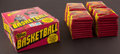 Basketball Cards:Sets, 1981 Topps Basketball Wax Box With 36 Unopened Packs. ...