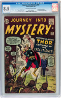 Silver Age (1956-1969):Superhero, Journey Into Mystery #84 (Marvel, 1962) CGC VF+ 8.5 Off-white to white pages....