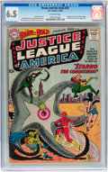 Silver Age (1956-1969):Superhero, The Brave and the Bold #28 Justice League of America (DC, 1960) CGCFN+ 6.5 Off-white pages....