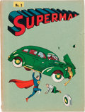 Golden Age (1938-1955):Superhero, Superman Homemade Golden Age Stories Bound Volumes (DC, 1938-40) Condition: Average VG.... (Total: 5 Items)