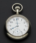 Timepieces:Pocket (post 1900), Hamilton 21 Jewel 18 Size Pocket Watch. ...