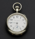 Timepieces:Pocket (post 1900), Hampden 23 Jewel 18 Size Pocket Watch. ...