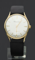 Timepieces:Wristwatch, Lucien Piccard 14k Gold Manual Wind Wristwatch. ...
