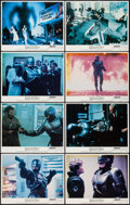 "Movie Posters:Action, RoboCop (Orion, 1987). Lobby Card Set of 8 (11"" X 14""). Action..... (Total: 8 Items)"
