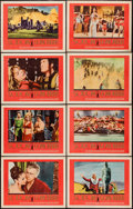 "Movie Posters:Historical Drama, Sodom and Gomorrah (20th Century Fox, 1963). Lobby Card Set of 8 (11"" X 14""). Historical Drama.. ... (Total: 8 Items)"