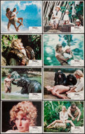 "Movie Posters:Adventure, Tarzan the Ape Man (MGM, 1981). Lobby Card Set of 8 (11"" X 14"").Adventure.. ... (Total: 8 Items)"