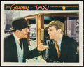 "Movie Posters:Crime, Taxi (Warner Brothers, 1932). Lobby Card (11"" X 14""). Crime.. ..."