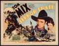 "Movie Posters:Western, Terror Trail (Universal, 1933). Title Lobby Card (11"" X 14"").Western.. ..."