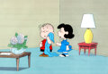 Animation Art:Production Cel, Charlie Brown and Snoopy Show Lucy and Linus Production Cel(Lee Mendelson/Bill Melendez, 1983)....