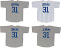 Baseball Collectibles:Uniforms, Fergie Jenkins Signed Chicago Cubs Jerseys Lot of 4. ...