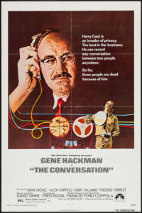 """The Conversation & Other Lot (Paramount, 1974). One Sheets (2) (27"""" X 41""""). Thriller. ... (Total: 2 Items)"""
