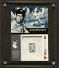 Autographs:Sports Cards, Ted Williams Signed Upper Deck Authenticated Card #262/ 2500....