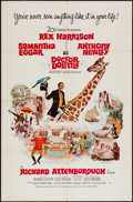 """Movie Posters:Fantasy, Doctor Dolittle (20th Century Fox, 1967 and 1969). One Sheets (2)(27"""" X 41"""") Art Style and Photo Style. Fantasy.. ... (Total: 2Items)"""