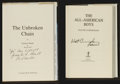 Autographs:Others, NASA Space Legends Signed Books Lot Of 2....