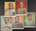 Baseball Collectibles:Others, 1982 Baseball Classic Limited Edition Artist Proof Prints #'d 10/36Complete Set (5). ...
