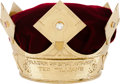 "Baseball Collectibles:Others, 1957 Ted Williams ""Babe Ruth Sultan of Swat Award"" Crown...."