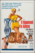 """Movie Posters:Comedy, It Happened in Athens (20th Century Fox, 1962). One Sheet (27"""" X 41""""). Comedy.. ..."""