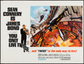 "Movie Posters:James Bond, You Only Live Twice (United Artists, 1967). British Quad (30"" X40"") Style A. James Bond.. ..."