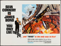 "You Only Live Twice (United Artists, 1967). British Quad (30"" X 40"") Style A. James Bond"